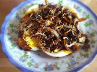 Telur rebus berkuah, resepi telur sedap, telur mudah,