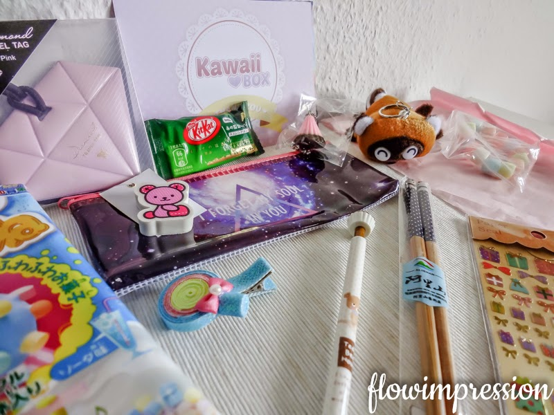 Kawaii Box unboxing Februar 2015