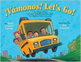 ¡Vámonos! Let's Go! by Rene Colaro Lainez, illus by Joe Cepeda coming this summer! (Holiday House)
