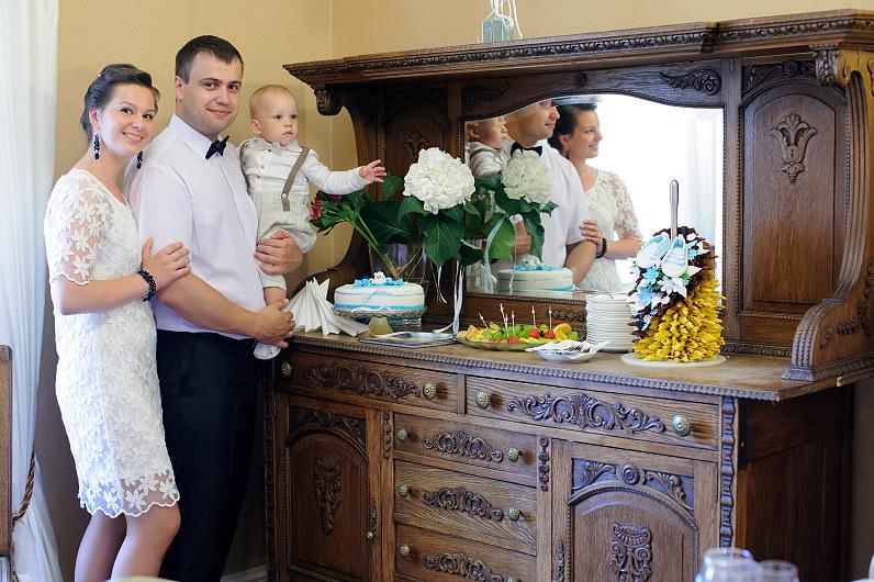 krikštynos Bistrampolio dvare