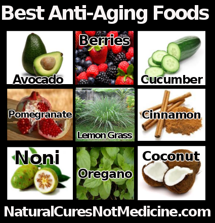 Best Anti-Aging Foods,Health Tips