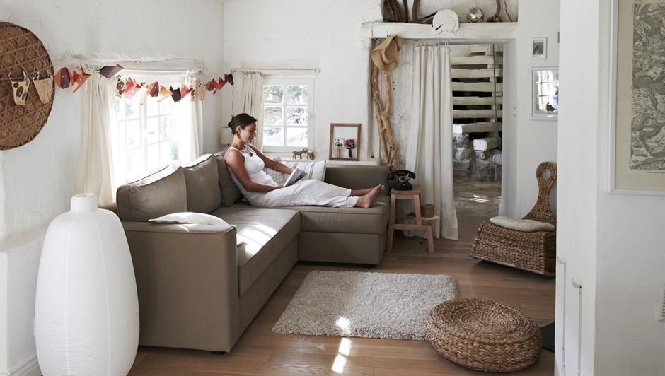 estilo rústico y el toque de diseño que poseen los muebles de Ikea