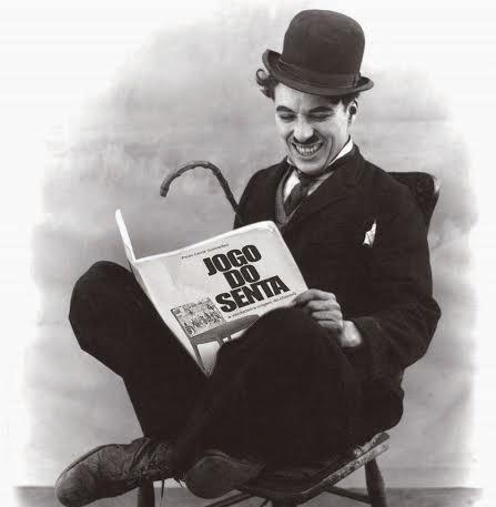 """Ele já leu """"Jogo do Senta, a verdadeira origem do chororô"""""""