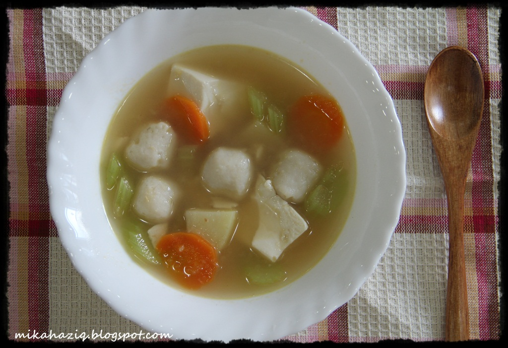 how to cook fish ball soup