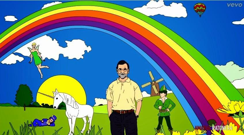 Rajoy en Ratonera, de Amaral, puedes intentar que te perdone Dios