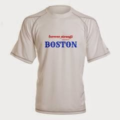 Boston Forever Strong Men's Performance Dry Tee