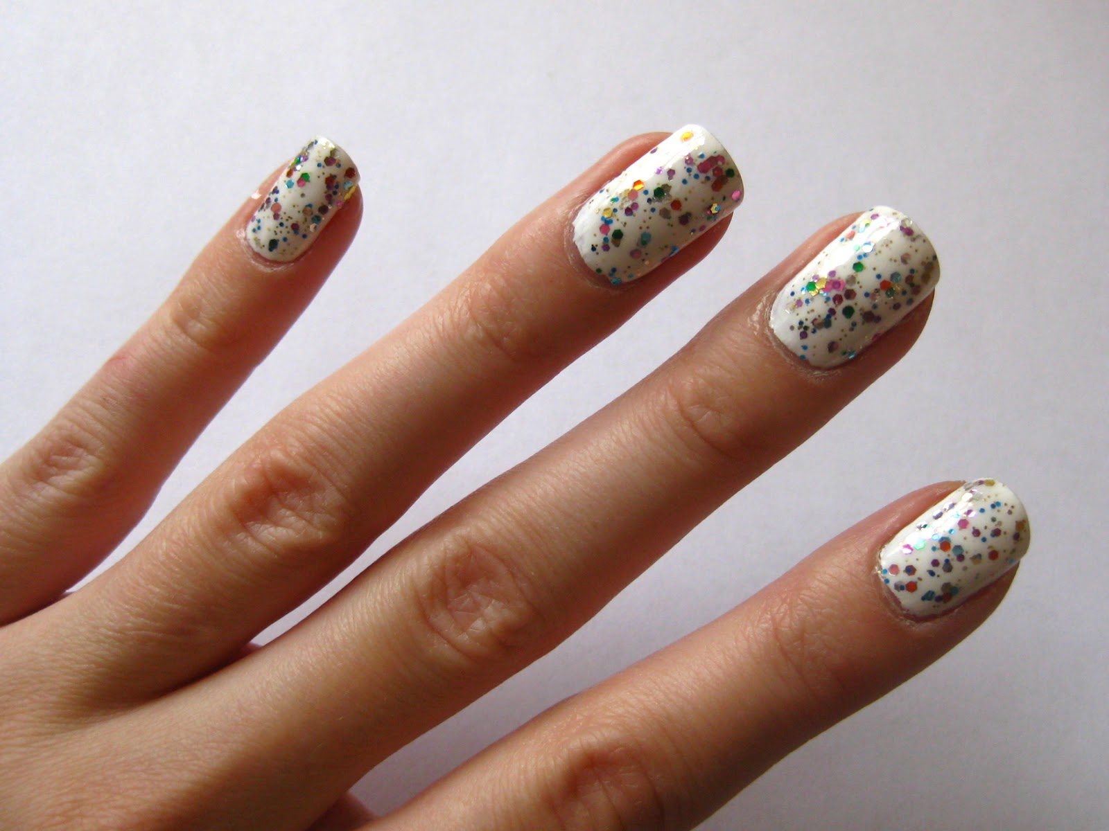 Crystal Castle Uk Beauty And Lifestyle Blog Nails Circus Confetti