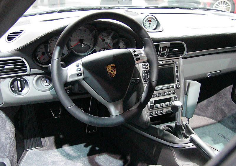 Cool cars porsche 911 turbo interior for Porsche 911 interieur