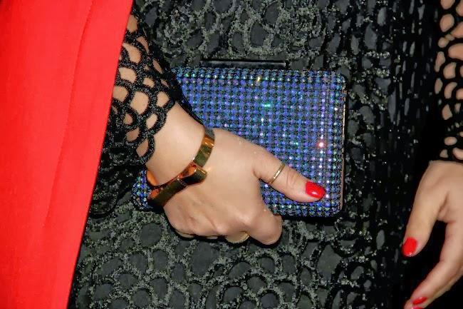sparkle jeweled clutch from TJ Maxx