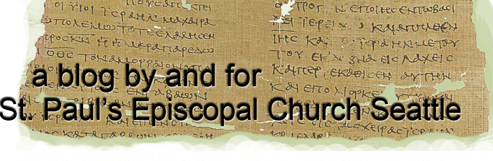 St Paul's Episcopal Church Parish Blog