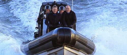 James Bond Spectre Set Video Daniel Craig