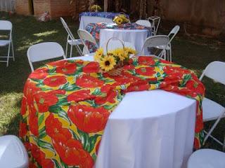 fotos de decoração para festa havaiana
