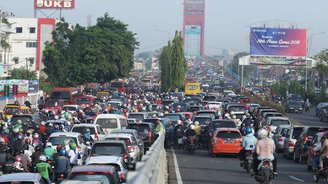 Atasi Kemacetan, Dishub-Polantas Siapkan Rekayasa Jalan Fly Over Jakabaring