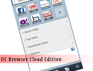 Cloud Edition of UC Browser Handler for Airtel