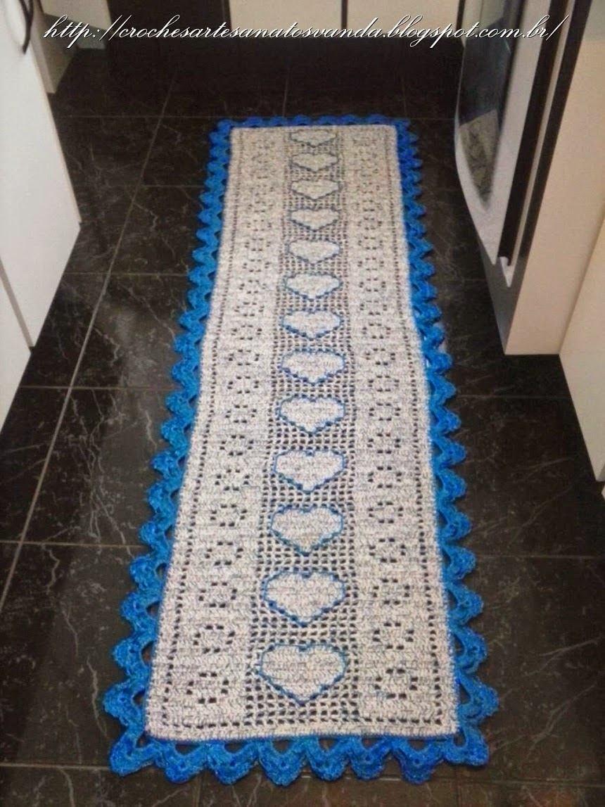 Tapetes De Croche Para Cozinha Com Grafico Cool Tapetes De Croche