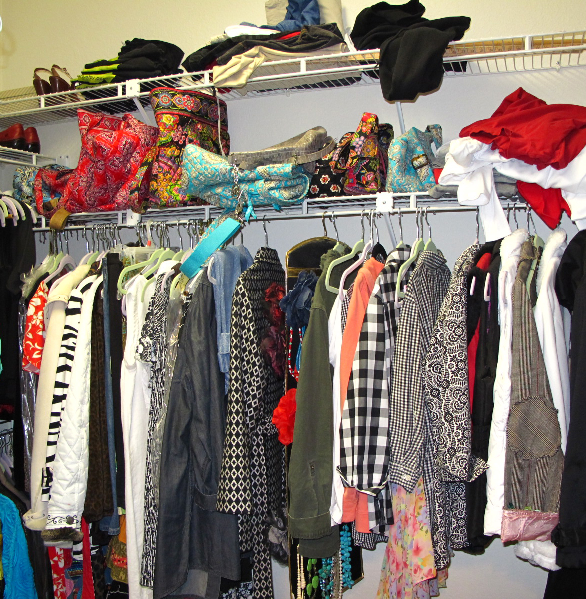 Suzanne's Crazy For Collars: Spring Cleaning: My Closet ...