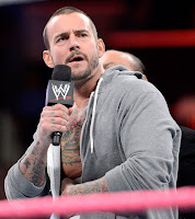 CM Punk Injured