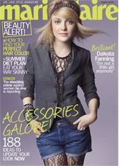 Dakota Fanning,  Marie Claire magazine