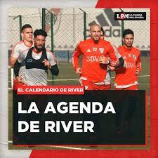 Agenda de River confirmada