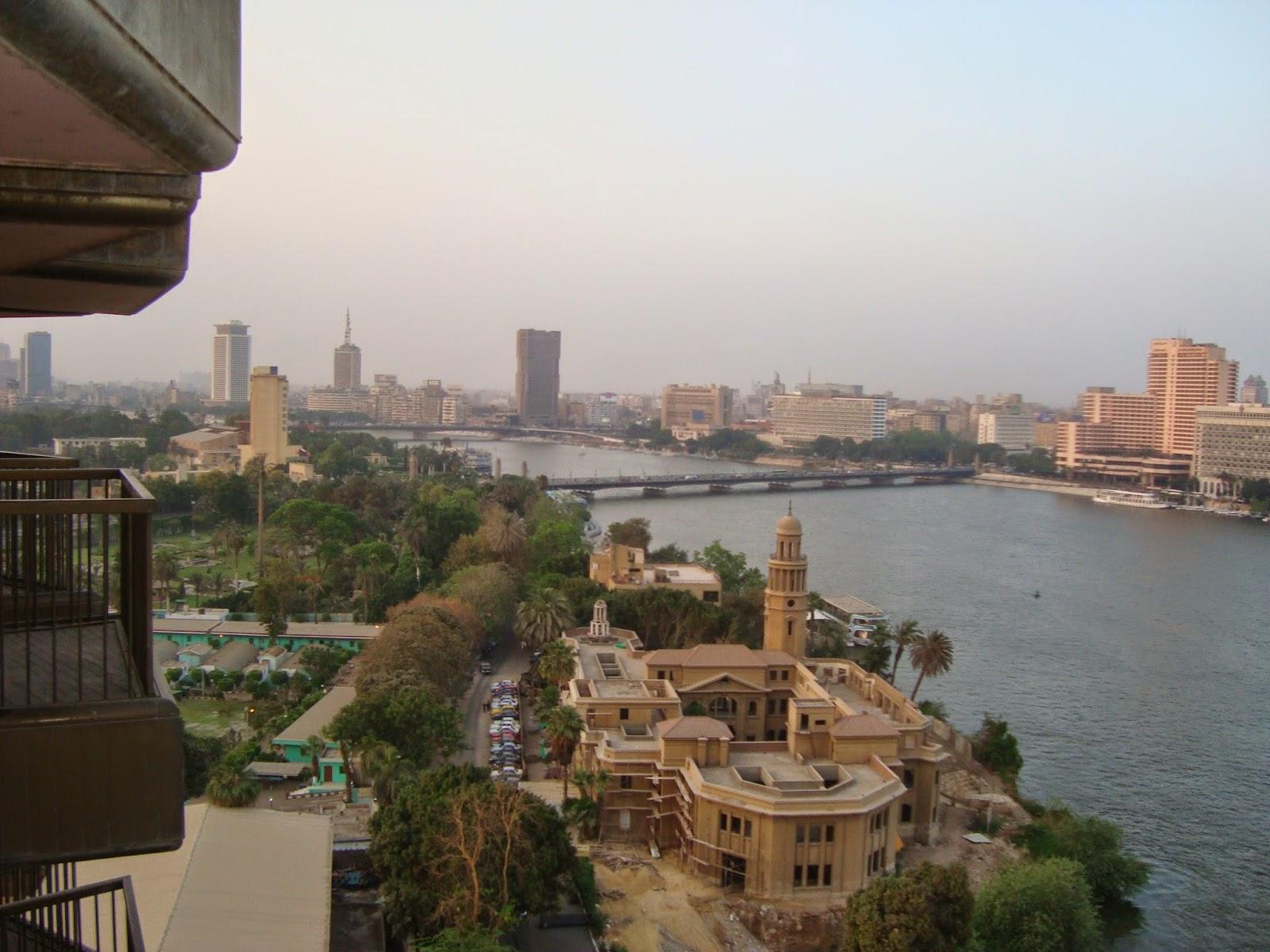 El Cairo Egipto Egypt sofitel hotel terraza nilo