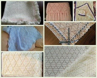 Diamond Stitch Baby Blanket Free Pattern