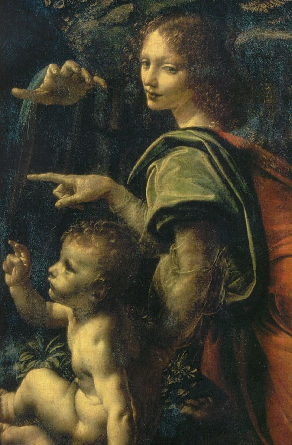 Da vinci the virgin of the rocks