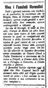 Il numero 9 di Siam fatti così, il giornale della Muti rende omaggio ai franchi tiratori fiorentini