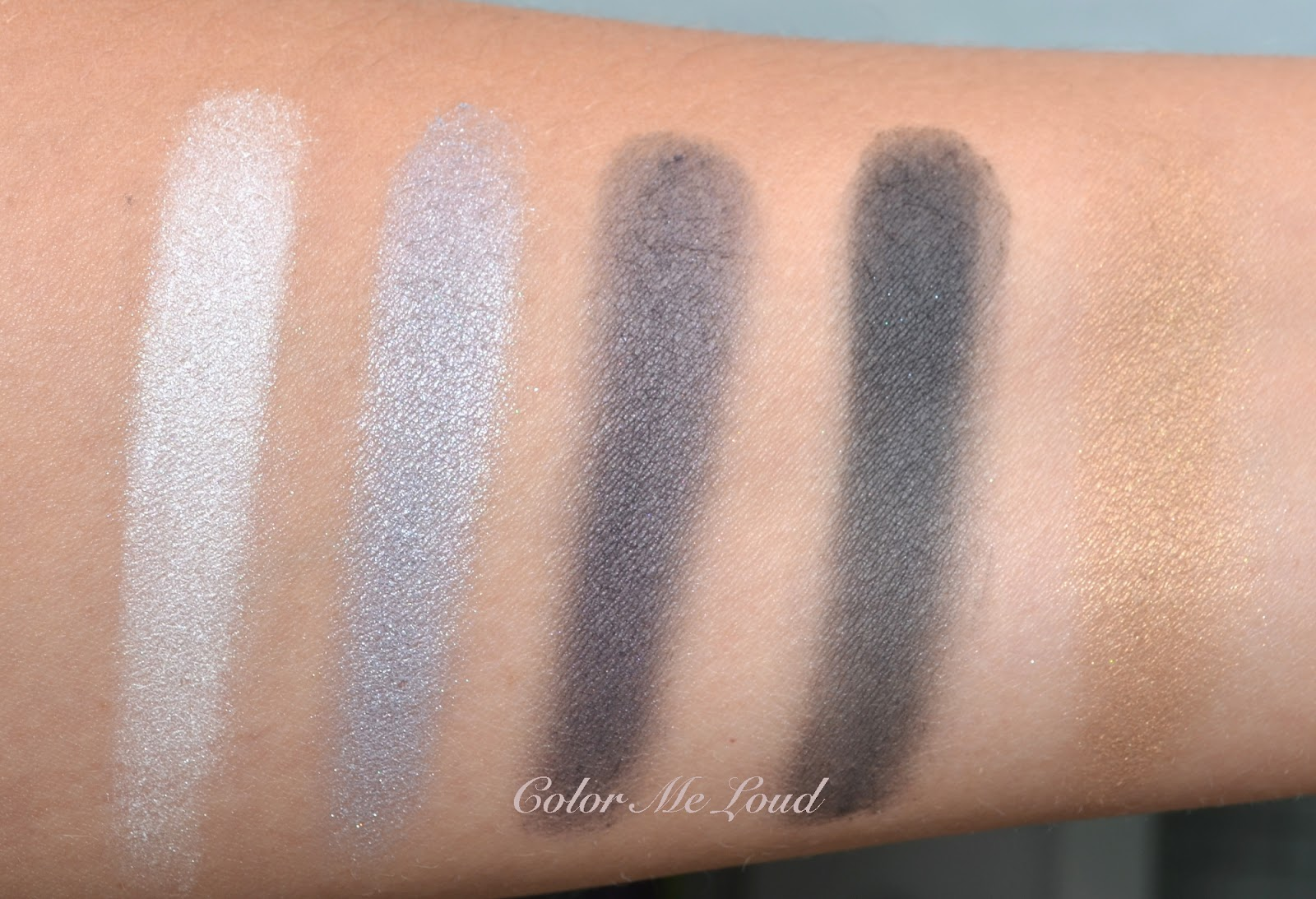 Swatch: Chanel Les 5 Ombres Oiseaux De Nuit Eye Shadow Palette I Have Tried  To Wear The Palette Two Times Each Time I Though The End Result Was Nice  But