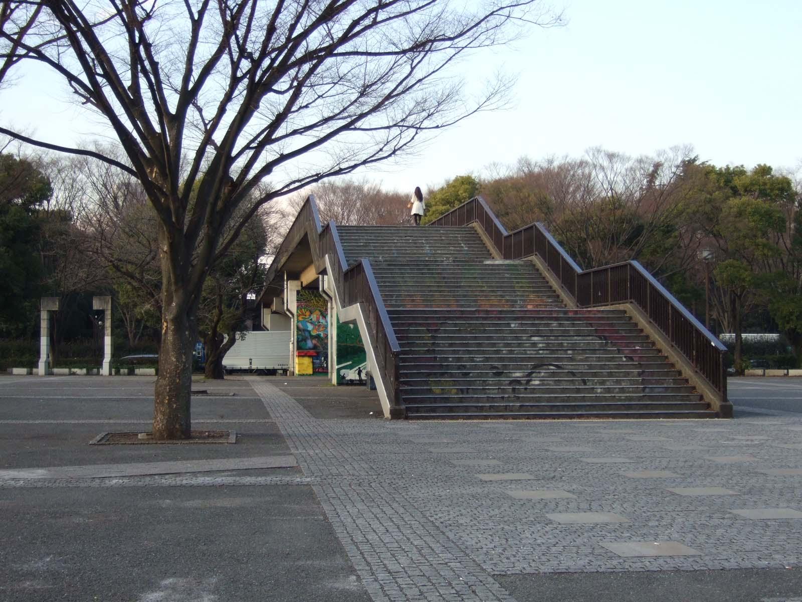 代々木公園,歩道橋〈著作権フリー無料画像〉Free Stock Photos