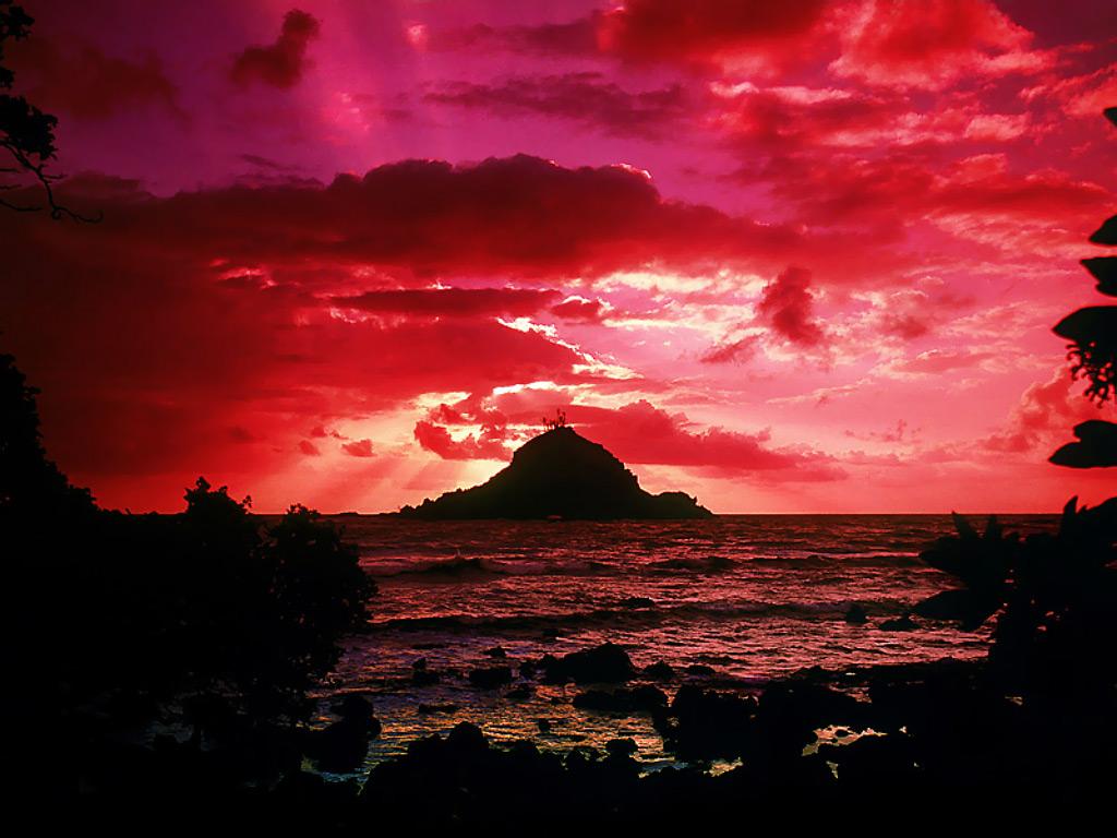 Alau Island Sunrise Maui Hawaii 97 - Beauty O'v NaTuRe ....... !!!!!!!!