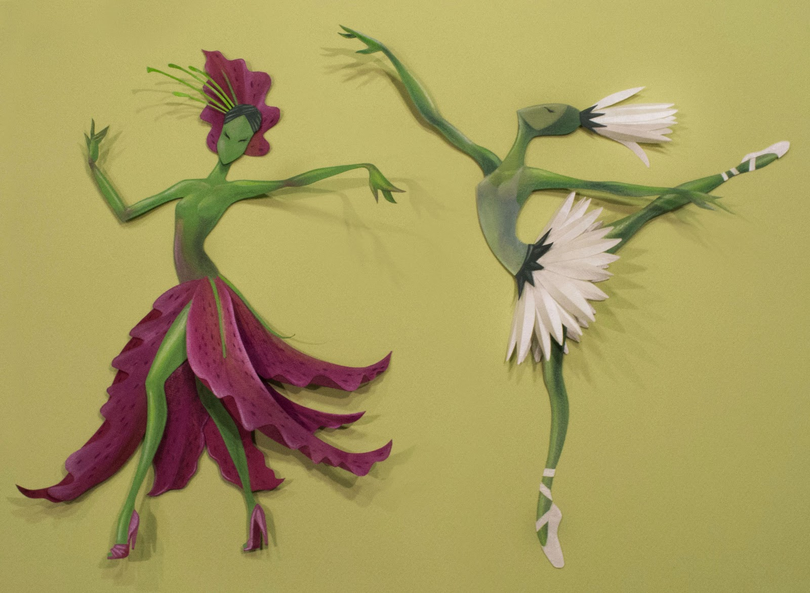 Illustrations by chelsea castillo paper dancing flowers izmirmasajfo