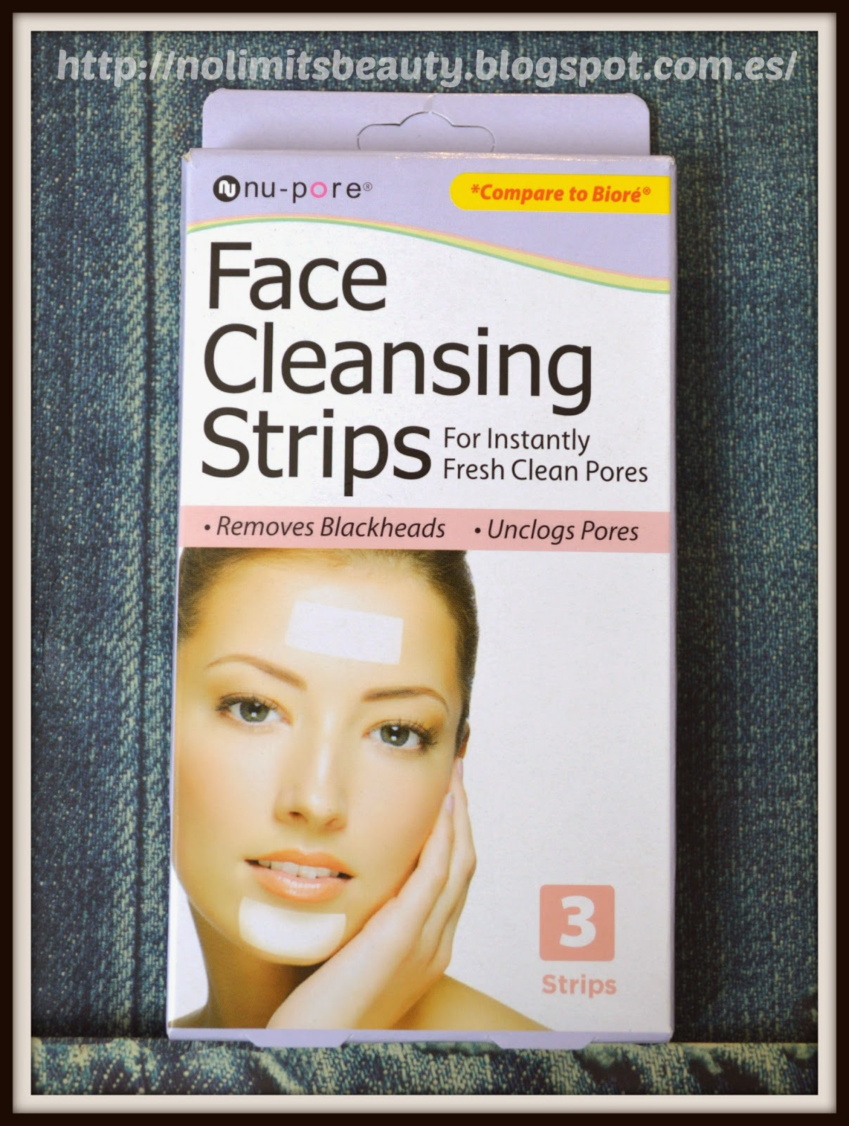 Face Cleansing Strips de Nu-pore