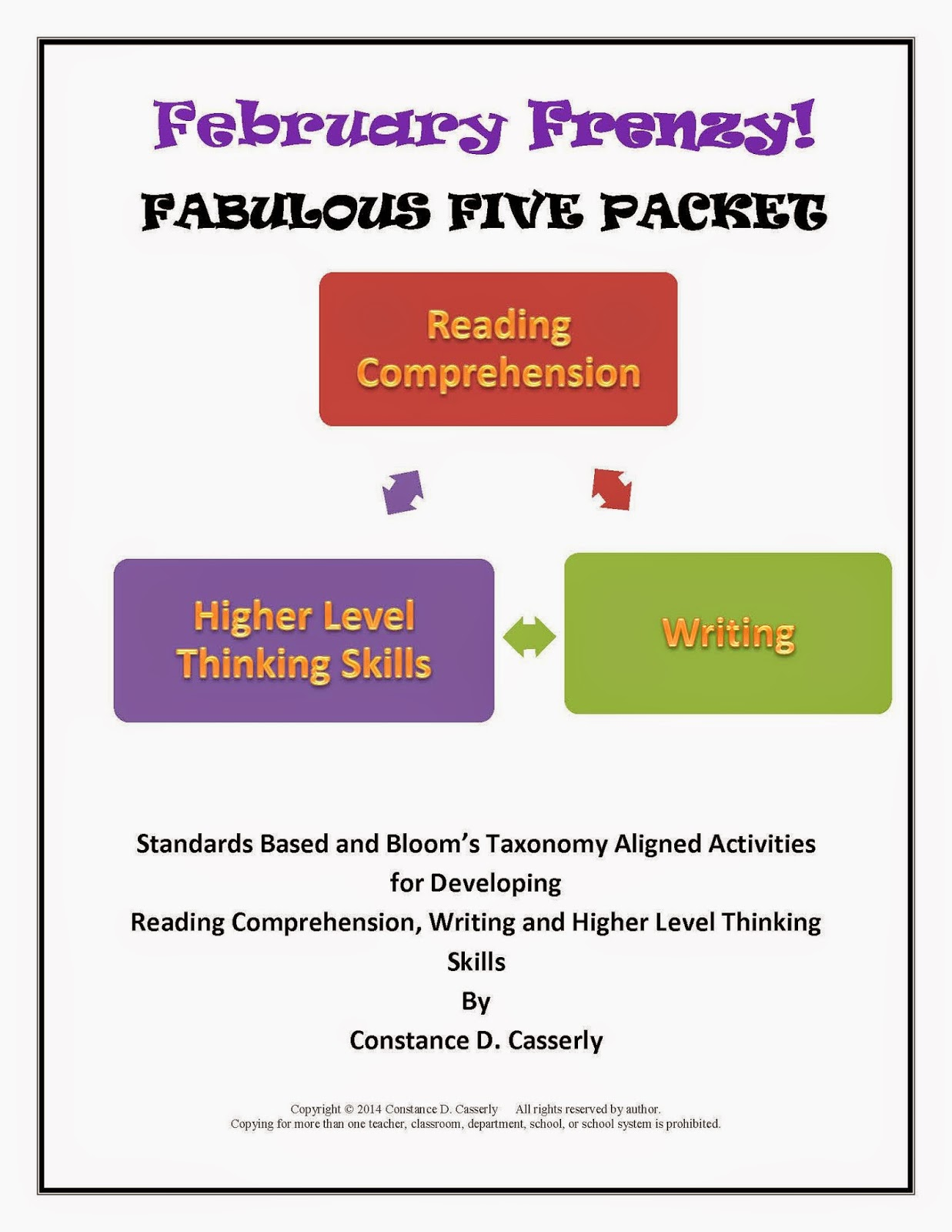 February Frenzy- Fabulous Five Packet