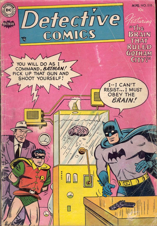 Detective Comics (1937) 210 Page 1
