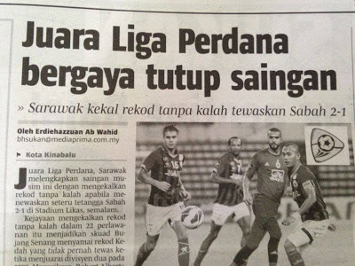 juara sekaligus membuka mata banyak pasukan lain dalam Liga Malaysia