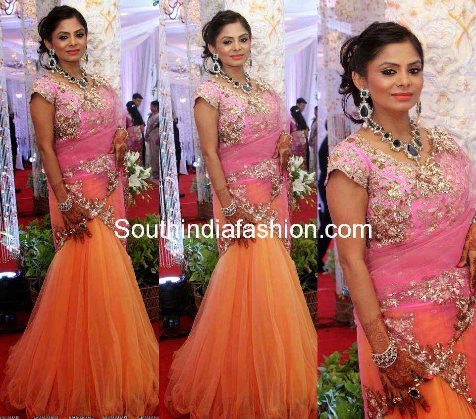 south indian half sarees