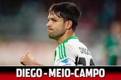 possíveis reforços do flamengo - Diego