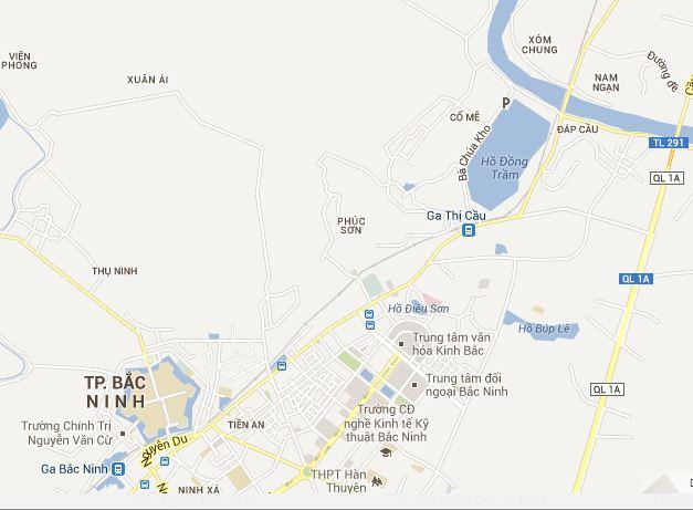 Bac Ninh Vietnam  city images : Bản đồ du lịch Bắc Ninh | Ban Do Du Lich Viet Nam