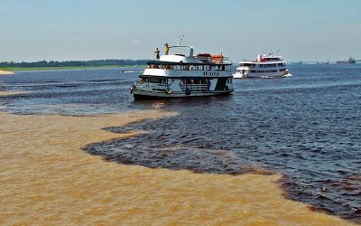 Encontro das aguas em Manaus