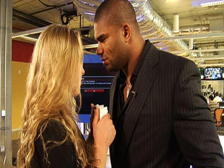 ... Ronda Rousey's boyfriend, I am sure you are one of those who love it