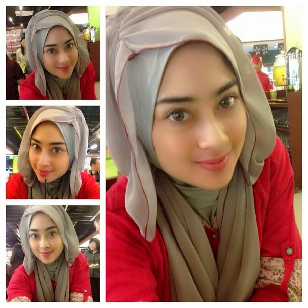 Model 6. Tips Tutorial Make Up Hijab Modern image