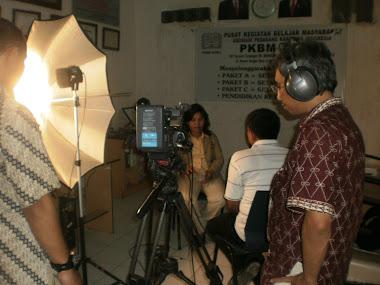 para wartawan dan kru TVRI