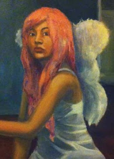 Heather Agoncillo, Sheridan College, Illustration, Painting, artist, portrait, acrylic painting,