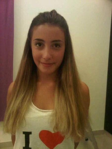 Silvia has Ombre Hair!