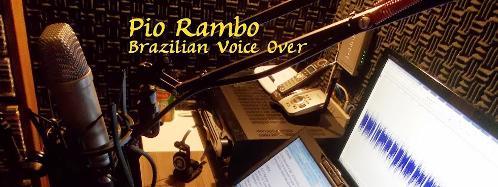 Brazilian Portuguese Voice Over, professional voice talent, Brasilianische Sprecher aus Südamerika