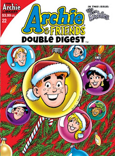 Cover of Kissless Christmas from Archie & Friends Double Digest #22 from Archie Comics