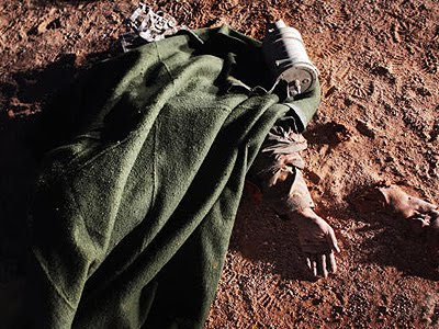 libya: Bloody territory