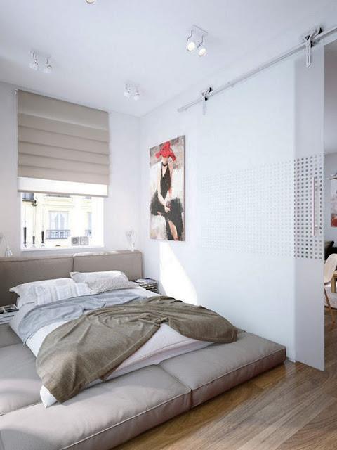 Kamar Tidur Minimalis7 Desain Kamar Tidur Minimalis Untuk Ruangan Sempit