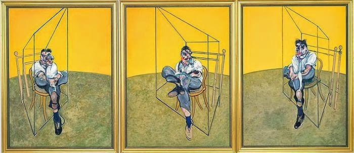 Фрэнсис Бэкон Три наброска к портрету Люсьена Фрейда. 1969