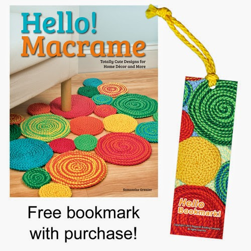 Hello Macrame! Hello Bookmark! | Pepperell Braiding Company